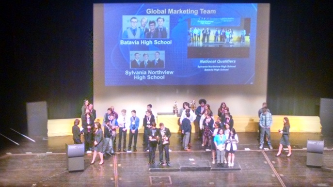 Global Marketing on Stage_2nd Place
