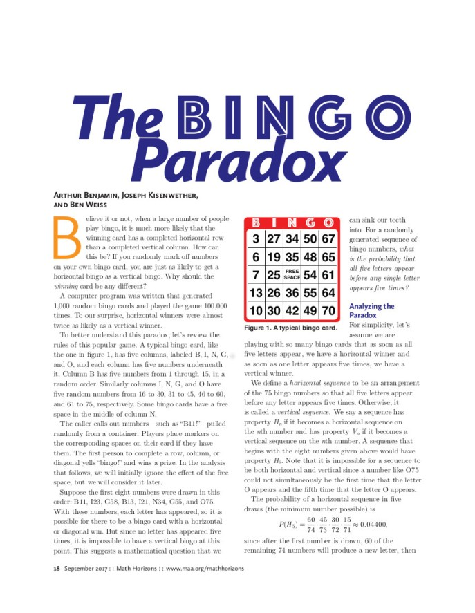 BingoParadox